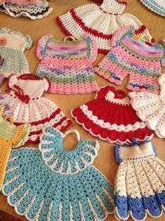 vintage americana potholders crochet patterns crochet kitchen pinterest topflappen und. Black Bedroom Furniture Sets. Home Design Ideas