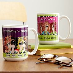 Personal Creations #Gifts  #Personalizedgifts Cute 'We are Sisters/Goddesses' Mugs - 11 oz - Great Personalized Gifts via- http://www.AmericasMall.com/personalcreations-gifts
