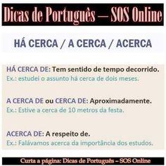 Resultado de imagem para dicas de portugues #learnbrazilianportuguese #portugueselanguage