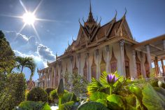 The Royal Palace, Phnom Pehn, Cambodia