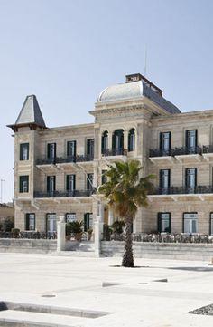 The Poseidonion Grand Hotel in Spetse, Greece http://www.mediteranique.com/hotels-greece/spetses/poseidonion-grand-hotel/