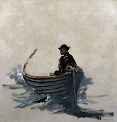 Study For The Escape From Rochefort by Edouard Manet- 1881