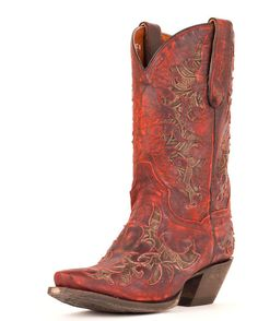 Dan Post Women's Zephyr Cowgirl Boot - Red  http://www.countryoutfitter.com/products/31238-womens-zephyr-red