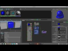 Maya 2016 Hypershade - YouTube