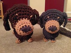 Free amigurumi dog pattern