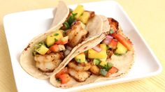 Grilled Jerk Shrimp Tacos Recipe - Laura Vitale - Laura in the Kitchen Episode 798