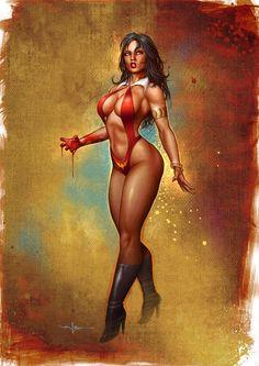 Vampirella by Valzonline.deviantart.com on @DeviantArt