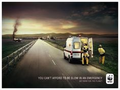 WWF _ You can't afford to be slow in an emergency act now for the planet.