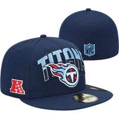 huge selection of 7e09d 2c7b5 Tennessee Titans New Era 2013 NFL Draft 59FIFTY Navy Hat Tennessee Titans  Hat, Navy Hats