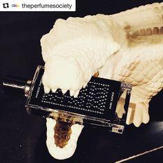 We love it when we find @avery_perfume_gallery porcelain animal room diffusers gnawing on a bottle of @agonistparfums  #Repost @theperfumesociety #averyperfumegallery #agonist #perfume #nicheperfumery #nicheperfume #fragrance #crocodile #profumo #ceramic #animal #ceramica #coccodrillo #madeinitaly #profumeriadinicchia #profumeria #perfumery