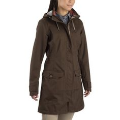 Crosstown Jacket: Walk into restaurants and bars without getting the raised eyebrow. This urban commuter jacket ensures you arrive without getting overheated or soaked through. Raincoats For Women, Jackets For Women, Blue Raincoat, Rain Jacket, My Style, How To Wear, Stuff To Buy, Mountain Equipment, Rain Coats