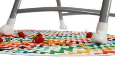 Large High Chair Splash Mat