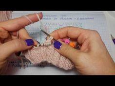 Центральный аран на желтый свитер МК - YouTube