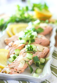 8. Cold Poached Salmon #whole30 #recipes http://greatist.com/eat/whole30-recipes-for-lunch