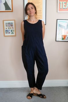 DIYing the Elizabeth Suzann Clyde pants and jumpsuit   What Katie Sews