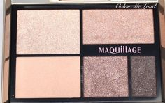 Color Me Loud: Shiseido Maquillage True Eyeshadow in BR722, Review, Swatch & EOTD