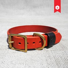 The HOUNDWORTHY Monogram Leather Dog Collar is crafted in Kent using fine Italian leather. Made in England.