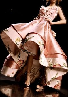Christian Dior Haute Couture - Detail John Galliano; I would throw MYSELF a Ball JUST to be able to wear this <3 <3 <3