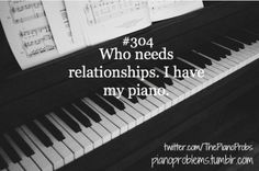 #foreveralone #PianoProblems #PianistProblems