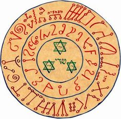 Enochian sigil from Justin by thecameo, via Flickr