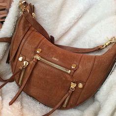 @sassyshopper._ scored this amazing leather bag for only $80! Originally $248.