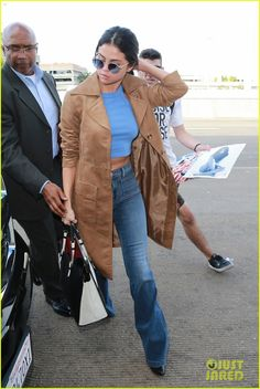Selena Gomez & Niall Horan Are Just Friends!: Photo #898608. Selena Gomez pulls her ponytail back while stepping out of her car and into LAX Airport on Tuesday (November 24) in Los Angeles.    The 23-year-old entertainer was…