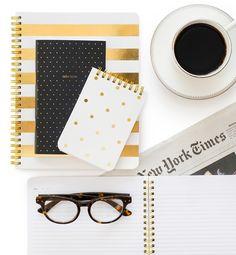 coffee + notebooks = study essentials!
