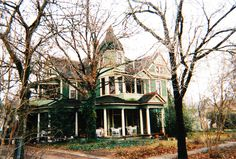 The Green Victorian House
