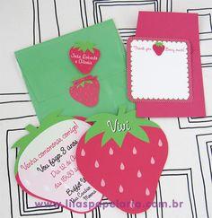 Morango além de gostoso é uma frutinha muito fofa, romântica... A Moranguinho e sua turminha sempre fez sucesso, seja a antiga ou a...