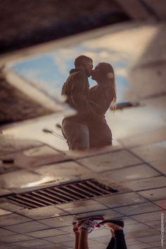 Love in the sky... by Evgeny Krivoderov