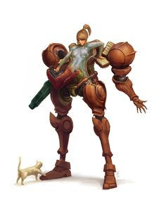 Samus Picture (big) by Alex Figini AlexF
