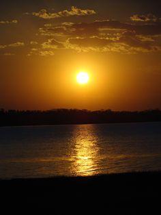 Sunset - Rio Grande (Frutal - Minas Gerais - Brazil)