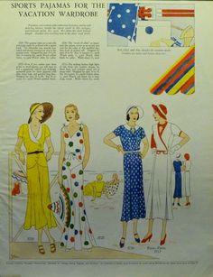 Glamoursplash: The Glory of the Vintage 1930s Beach Pajama