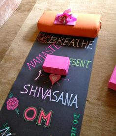 Love this personalized yoga mat!