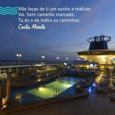 #quote #inspiration #viagem #travel #ceciliameireles #cruise #sonho