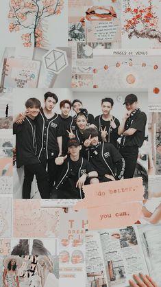 Baekhyun, Exo Wallpaper Hd, Phone Wallpapers, Exo Dear Happiness, Exo Group Photo, Exo Album, Exo Lockscreen, Exo Fan Art, Exo Do