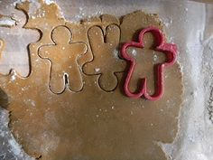 Recipe for soft, not-to-spicy gingerbread man cookies.  Hide the cookies after they are decorated and have a scavenger hunt for the kids to find them.