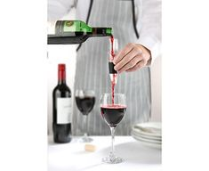 Mini Vinturi Wine Aerator  Description: The original and the best, no other wine aerator has won as many awards as the much-loved Vinturi. It couldn't be easier or quicker to use – simply hold it over your glass and pour the wine through for perfect aeration in seconds. The Vinturi's secret is a patented inner 'swirl' mech...   http://www.giftsdirect.me.uk/mini-vinturi-wine-aerator/