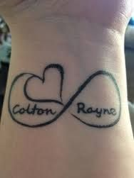 tattoos with kids names - Google Search