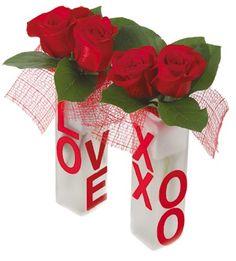 Valentine's Floral Arrangement Ideas | valentines day flower arrangement 1 Valentine Day Flower Arrangements