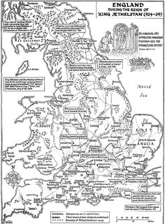 The Battle of Brunanburh is largely unknown to all but the most die-hard buffs of Anglo-Saxon or Viking history. But it is a battle that deserves to be remembered. For it was the largest and bloodiest battle fought in Anglo-Saxon England prior to Hastings Uk History, European History, British History, History Facts, World History, Scotland History, Scotland Trip, Nasa History, History Quotes