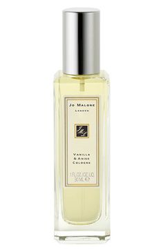 Jo Malone™ Vanilla & Anise Cologne (1 oz.),  $60.00, Item #274966. Vanilla and Anise, the latest fragrance from the World of Jo Malone™, transports you to the floral landscape of Madagascar and captures the fleeting moment of the blossoming rare vanilla orchid.