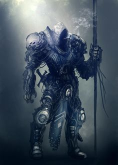 Hooded Warrior by JoseArias.deviantart.com on @DeviantArt