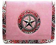 Western Star iPad Folio Case - Pink