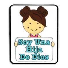 Soy Una Hija De Dios Spanish Girl Necklace for the Primary Theme 2013