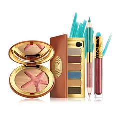 Estee Lauder Bronze Goddes Soleil Summer 2011 Makeup Collection &... ❤ liked on Polyvore