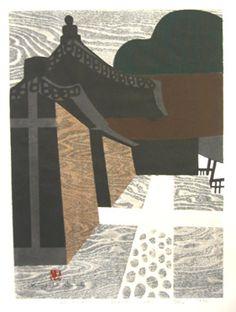 Daitokuji by the artist Kiyoshi Saito | Scriptum Inc