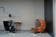 Maurizio Pecoraro's Elegant and Moody Home by Dordoni Architetti // Milan.