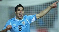 Celebration, Luis Suarez
