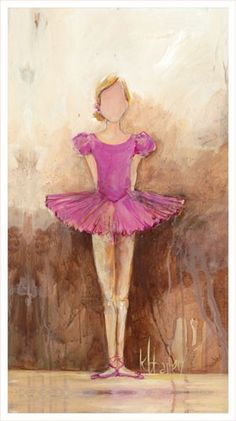 Dress up a bare wall with the Belle of the Ballet in Pink Canvas Wall Art from Oopsy Daisy. Canvas wall art is perfect for adding color and style to bedrooms, playrooms, nurseries and even bathrooms!